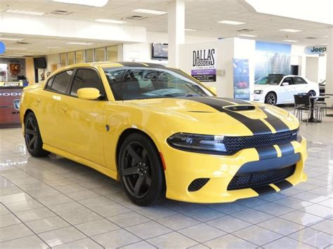 New 2018 DODGE Charger SRT Hellcat Sedan in Dallas #