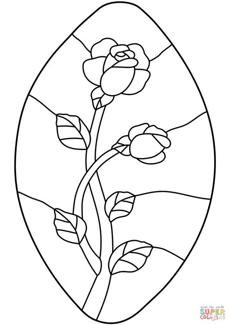 Free Printable Angel Pattern Stained Glass Coloring Pages