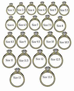 New wedding ring sizes with hold one of your rings up to for Wedding ring sizes