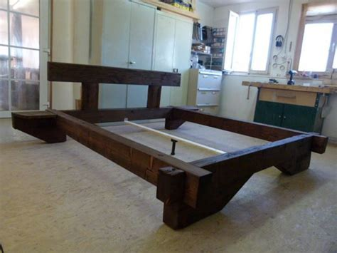bett aus balken balken bett aus altholz rustikal 180x200 kaufen auf ricardo ch