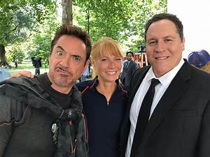 Avengers: Robert Downey Jr., Gwyneth Paltrow, Jon Favreau ...