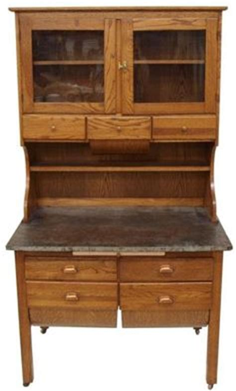 possum belly kitchen cabinet antique oak baker s cabinet or hoosier style cupboard with 4367