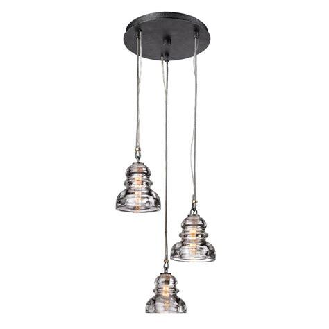 troy lighting menlo park 3 light silver pendant f3133