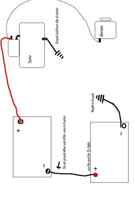 deere 4020 24v to 12v conversion wiring diagram