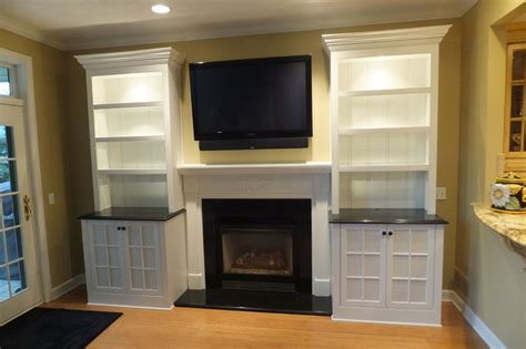 concord custom cabinetry  fireplace traditional
