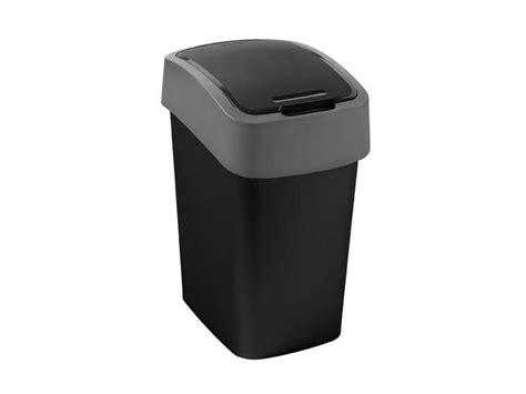 poubelle cuisine conforama poubelle cuisine 25 l flip bin coloris noir chez conforama