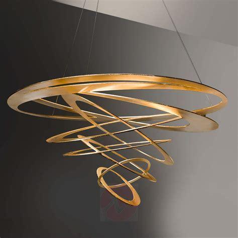 Loop Design Pendelleuchte in Gold 6532095