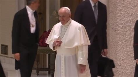 Watch Cbs This Morning Pope Signals His Support For Same