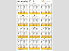 Excel Kalender 2018 Download Freewarede