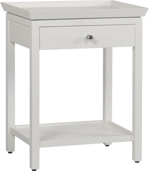 neptune aldwych side table snow bedside furniture