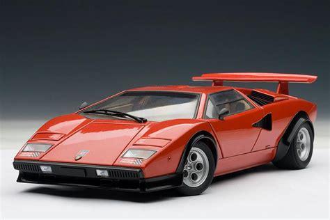 AUTOart: Lamborghini Countach LP500S Walter Wolf Edition ...