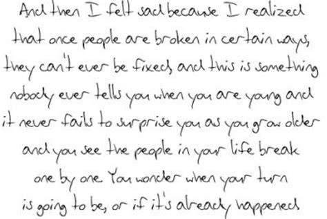 broken quotes sad love letter quotesgram
