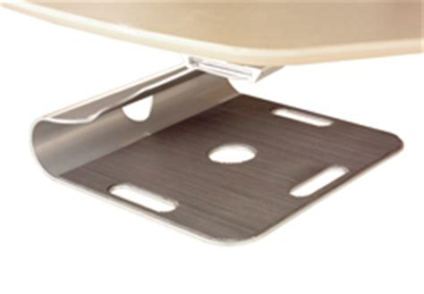 under desk laptop holder laptop solutions to free up desk space from kos ie ireland