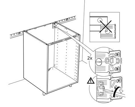 montage meuble cuisine notice montage meuble haut cuisine ikea