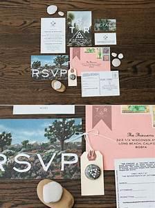 joshua tree wedding rachel travis real weddings 100 With joshua tree wedding invitations