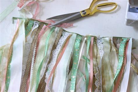shabby chic ribbon how to make a shabby chic ribbon flag