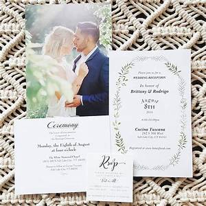 sample vistaprint wedding invitation stationery With vistaprint photo wedding invitations