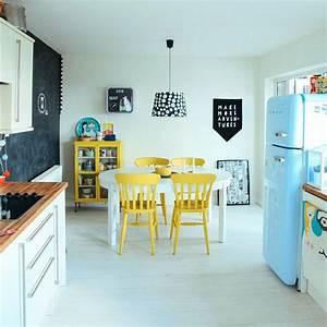 Cuisine Bleue Ikea : quand un r frig rateur smeg suffit donner du style la ~ Preciouscoupons.com Idées de Décoration