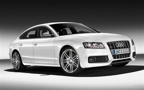 Cars White Cars Audi S5 Luxury Sport Cars Wallpaper