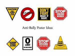 No Bullying Posters Ideas | www.imgkid.com - The Image Kid ...