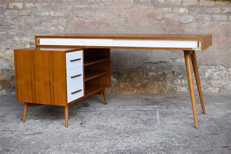 bureau a tiroir bureau en teck à caisson et tiroirs fabrication