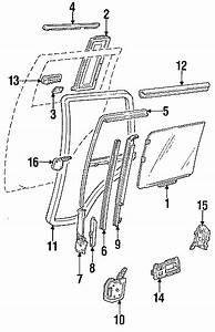 Chevrolet S10 Blazer Window Crank Handle  Front   Manual