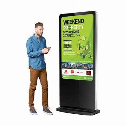 Digital Display Screen Standing Signage Kiosk Floor