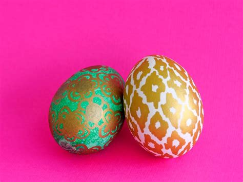simple easter egg designs easter egg decorating ideas easy crafts and homemade decorating gift ideas hgtv