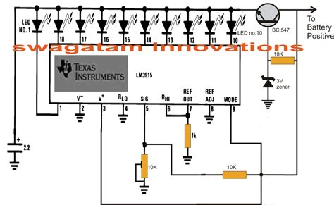 Step Battery Charger With Indicator Circuit