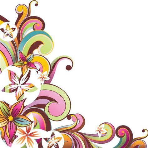 bordes esquineros decorativos imagui flores dise 241 os de flores bordes para caratulas y