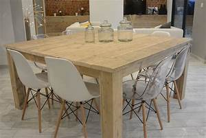 Table A Manger Carree Bois : table carr e pays bois 160 cm dream home pinterest tables carr es carr s et table ~ Teatrodelosmanantiales.com Idées de Décoration