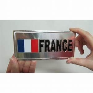 Plaque Immatriculation France : plaque immatriculation supporter france adh sive ~ Medecine-chirurgie-esthetiques.com Avis de Voitures