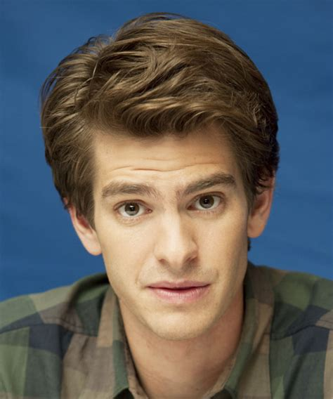 andrew garfield formal short straight hairstyle ash