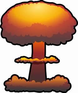 Clipart - nuclear explosion