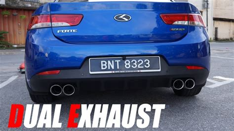 Kia Forte Koup Exhaust by Upgrading My Kia Forte Koup Exhaust