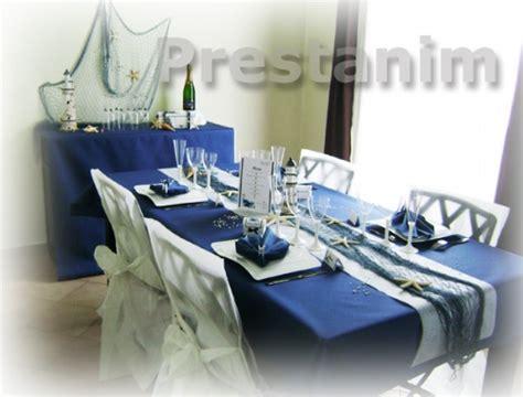 mariage mer decoration mariage theme mer bleu blanc