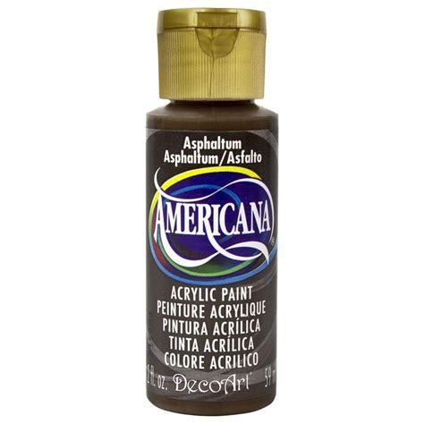 decoart americana 2 oz asphaltum acrylic paint da180 3