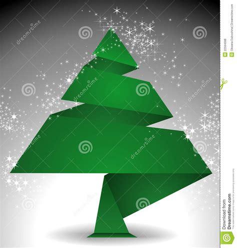 weihnachtsbaum origami lizenzfreie stockfotos bild 22594098