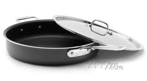 clad   nonstick saute pan  quart cutlery