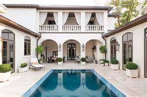 Images Home Plans Center Courtyard Pool by Houston Lifestyles Homes Magazine Modern Moroccan Riad