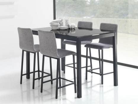 table haute avec tabouret pour cuisine table haute de cuisine avec tabouret design en image