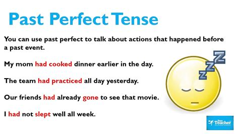 Past Perfect Tense Lesson Youtube