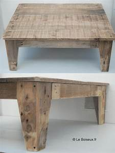 Table En Bois De Palette : table de salon en bois de palettes deco pinterest discover more ideas about salons and tables ~ Melissatoandfro.com Idées de Décoration