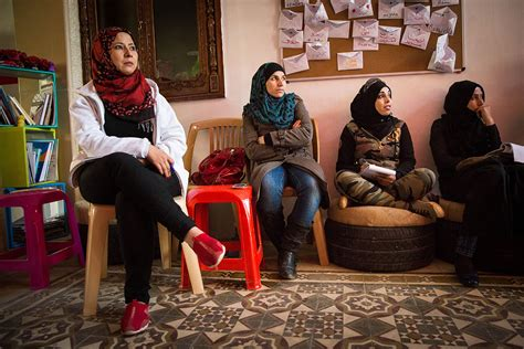 Syrian Refugee Women Take On Life In A Man's World Al