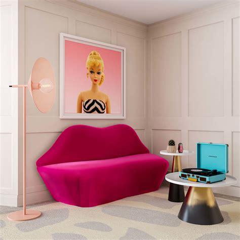 pink velvet settee tov furniture