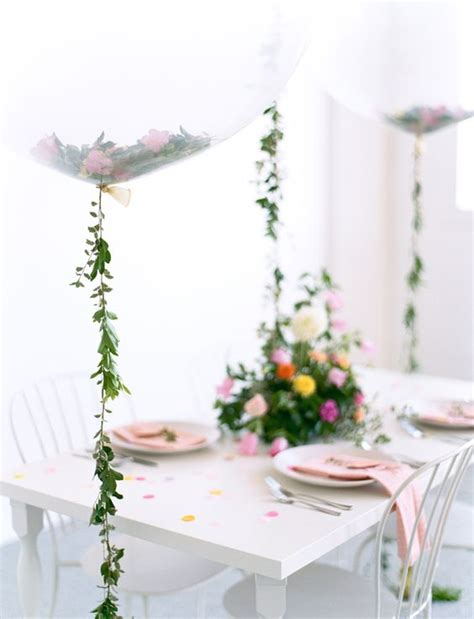 21 balloon decorations for a bridal shower shelterness