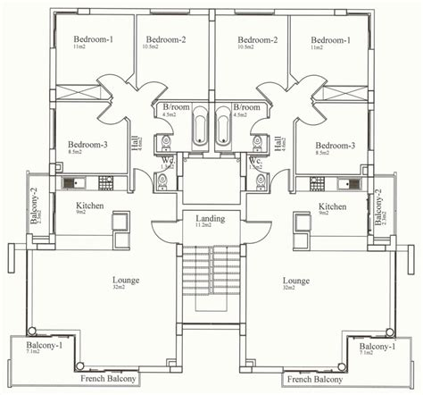 3 bedroom floor plans north cyprus apartment property kyrenia court suites iv v northern cyprus