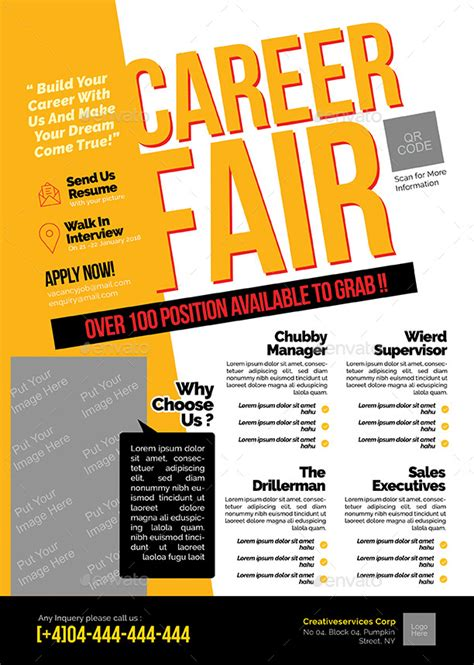 Career Fair Flyer By Shamcanggih  Graphicriver. Menu Templates Free Microsoft Picture. Club Flyer Templates Free. Templates For Timelines 411983. Ms Word Pleading Template. High School Graduation Message To Brother. Party Rental Invoice Template. Real Estate Investing Business Cards Template. Flirty Good Morning Messages For Girlfriend