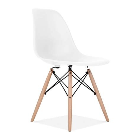 eames chaises eames style white dsw chair cafe side chairs cult