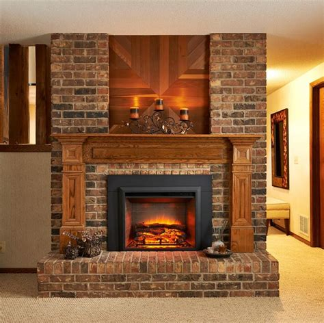 the fireplace place interior interior accent ideas using brick fireplace
